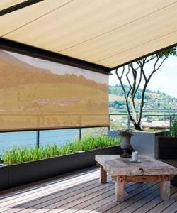 Stobag Awning Exterior Shade   Window Treatments
